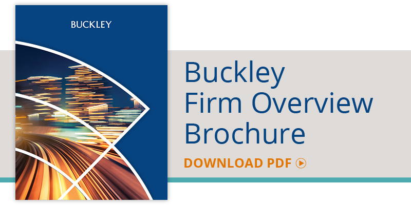 Buckley Firm Overview Brochure