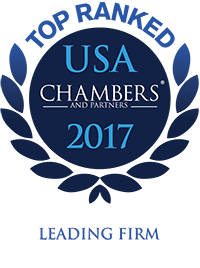 Buckley Sandler Chambers USA Top Ranked Firm 2017