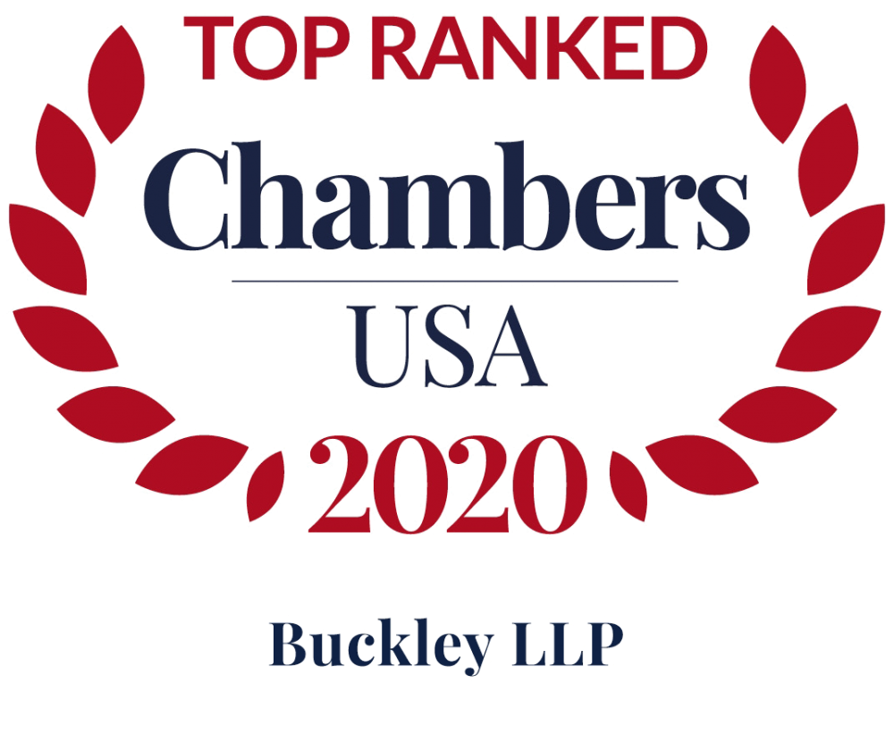 Buckley Chambers USA Top Ranked Firm 2020
