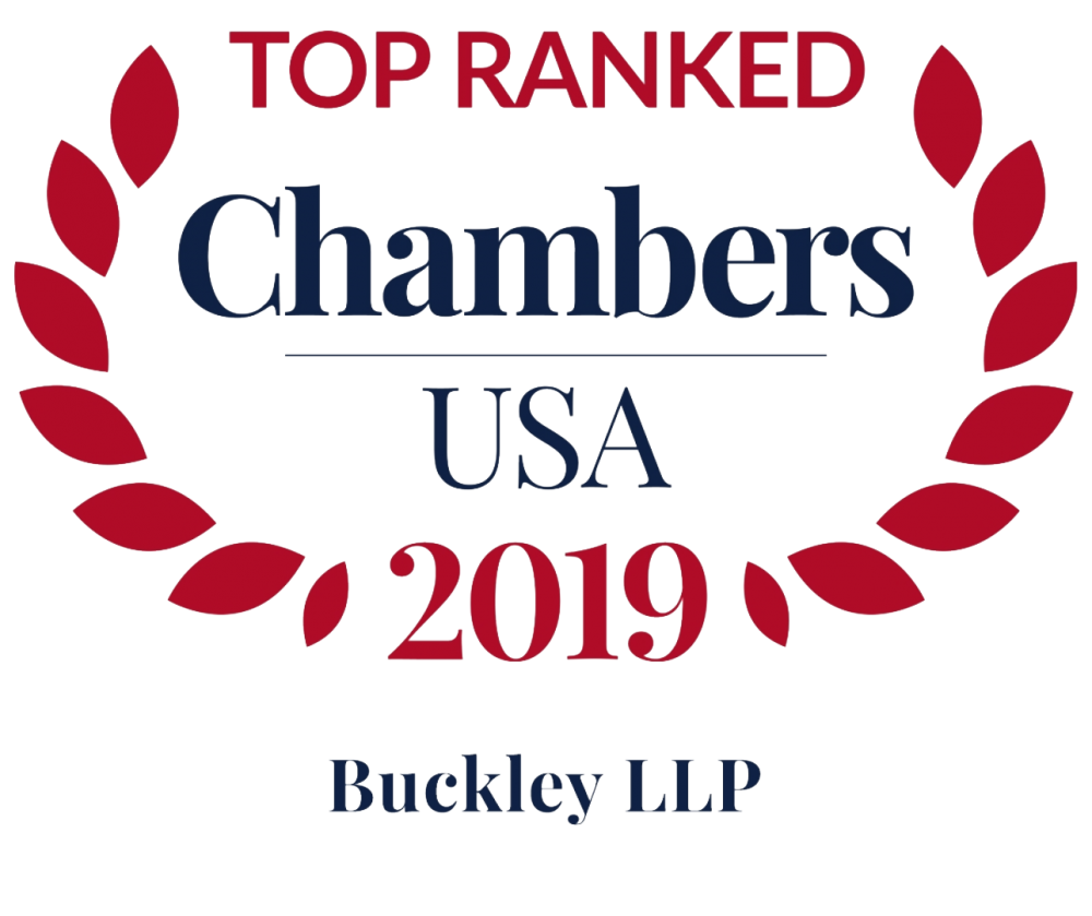 Buckley Chambers USA Top Ranked Firm 2017